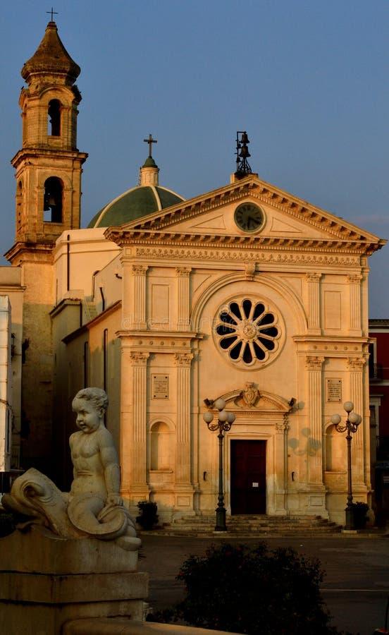 Chiesa di S M DI BARI de Maddalena MOLA (ITALIA) imagem de stock royalty free