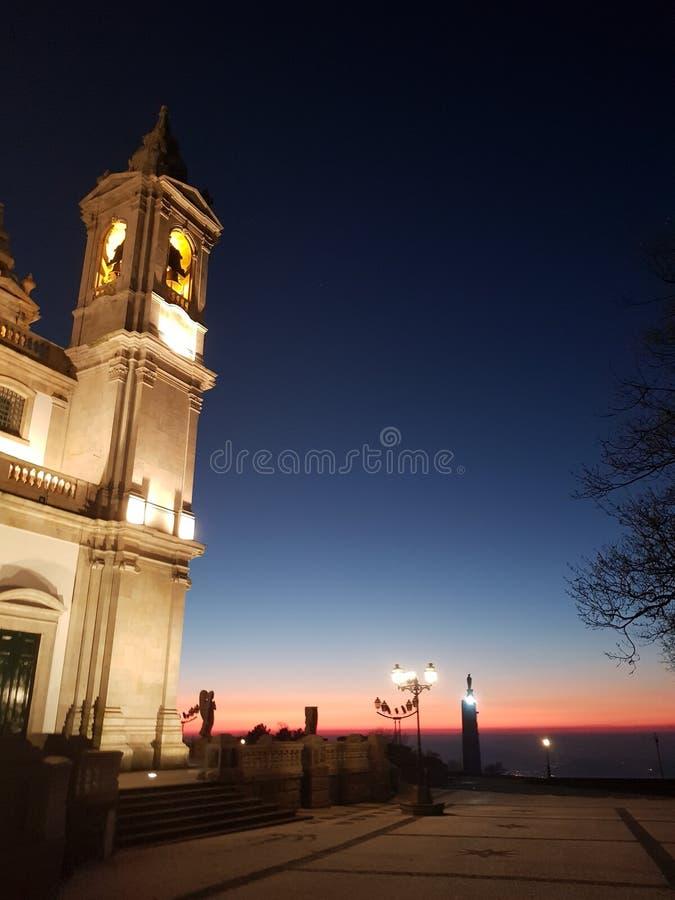Chiesa di Sameiro - Braga, Portogallo immagini stock
