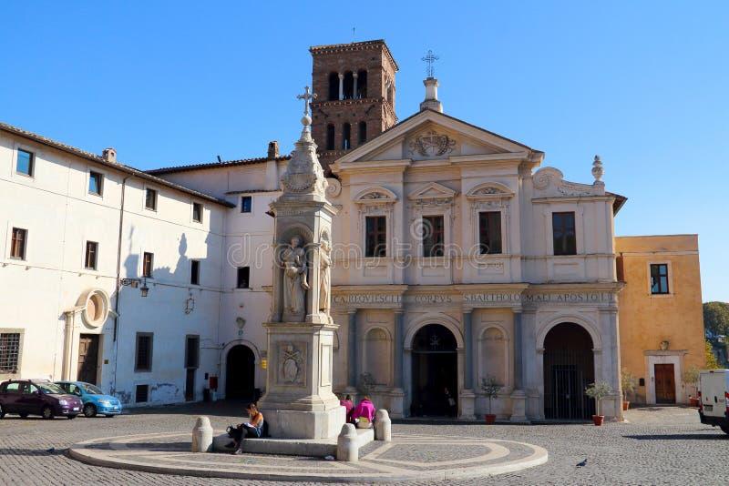 Chiesa Di San Bartolomeo obrazy stock