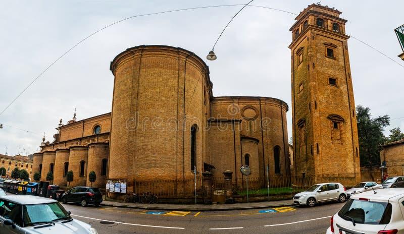 Chiesa Di San Benedetto en Ferrara, Italia imágenes de archivo libres de regalías