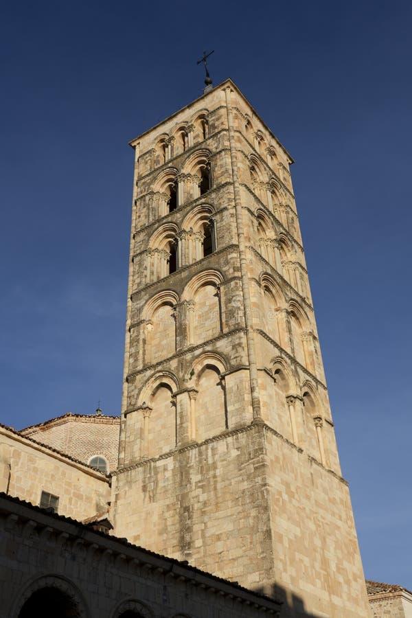 Chiesa di San Esteban immagine stock libera da diritti