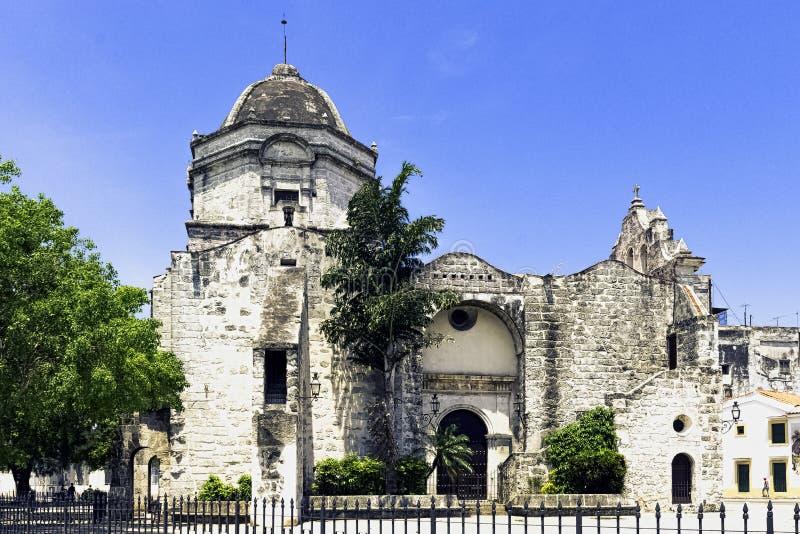Chiesa di San Francisco de Paula/Iglesia de San Francisco de Paula a Avana, Cuba fotografie stock