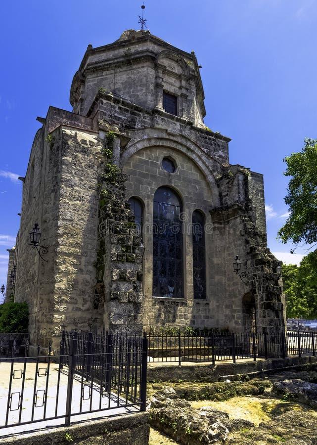 Chiesa di San Francisco de Paula/Iglesia de San Francisco de Paula a Avana, Cuba immagini stock