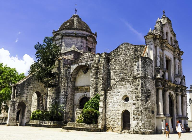 Chiesa di San Francisco de Paula/Iglesia de San Francisco de Paula a vecchia Avana fotografie stock libere da diritti