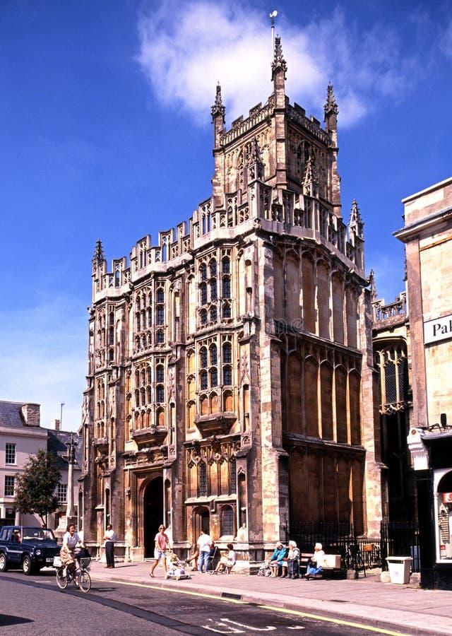 Chiesa di San Giovanni Battista, Cirencester fotografia stock libera da diritti