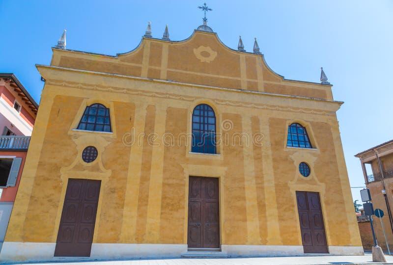 Chiesa di San Giuseppe Scandiano Emilia Romagna Italy.  royalty free stock photography
