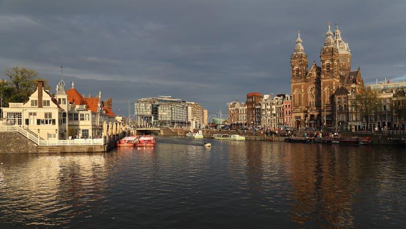 Chiesa di San Nicola a Amsterdam, Olanda immagine stock