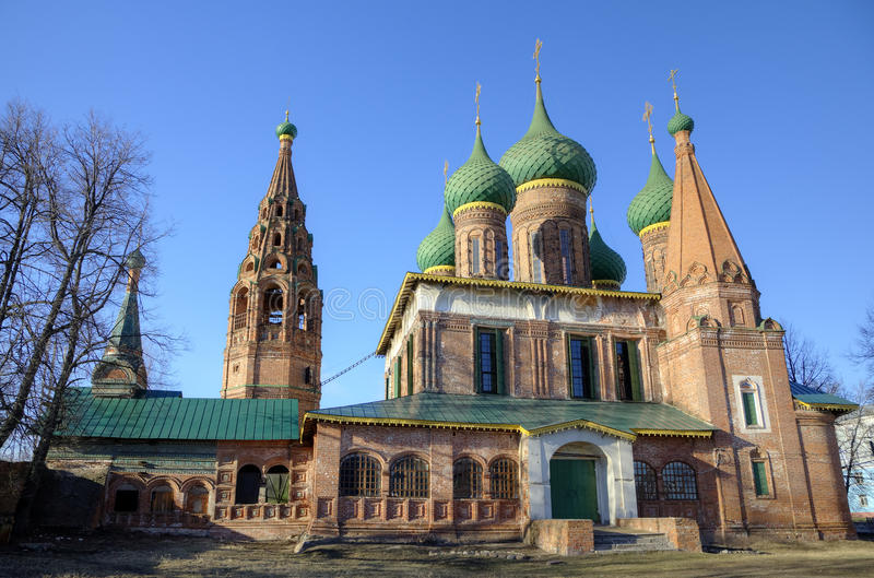 Chiesa di San Nicola il bagnato. immagini stock