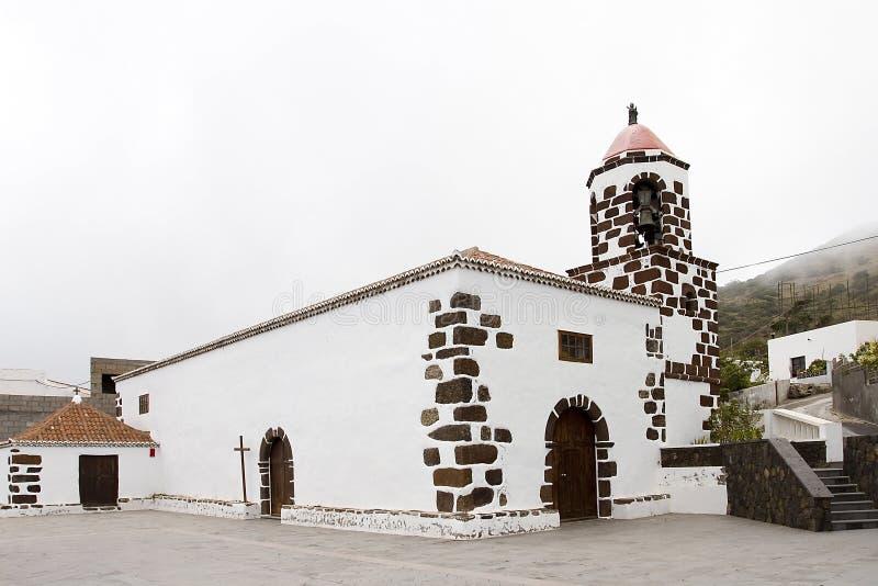 Chiesa di San Pedro, EL Hierro immagini stock