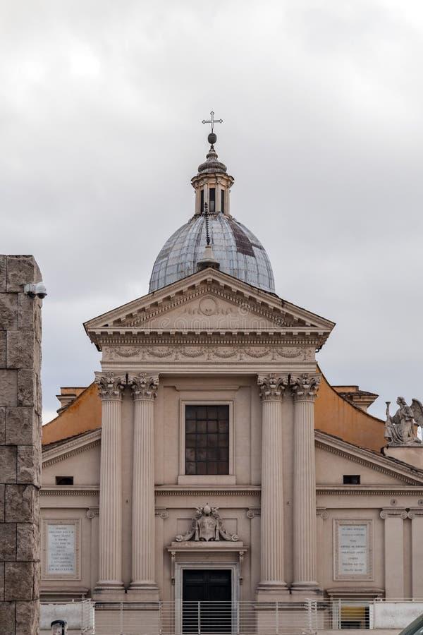 Chiesa di San Rocco oder St. Roch Church in Rom, Italien lizenzfreie stockfotografie