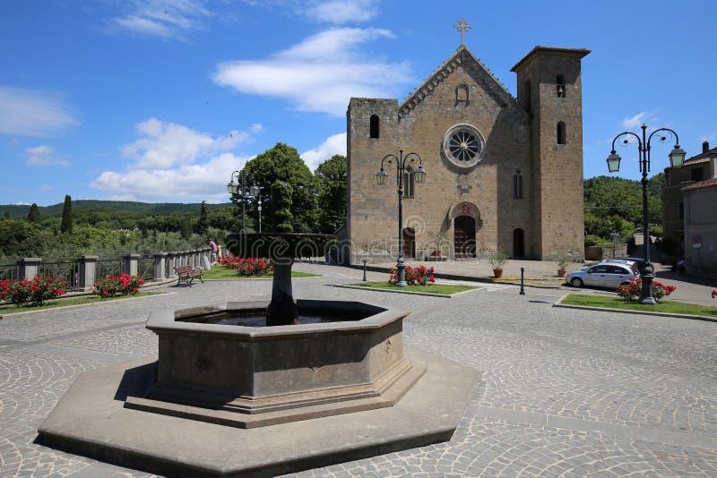 Chiesa di San Salvatore in Italia fotografia stock libera da diritti