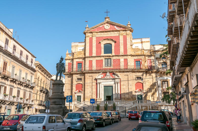 Chiesa Di Sant'Agata stock afbeelding