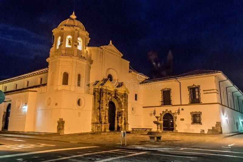 Chiesa di Santo Domingo fotografia stock libera da diritti