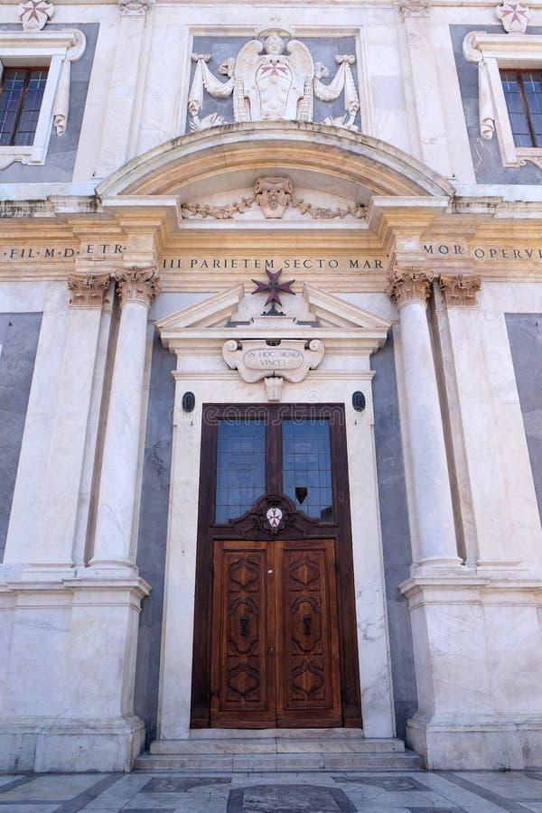 Chiesa di Santo Stefano il cavaliere, a Pisa fotografie stock