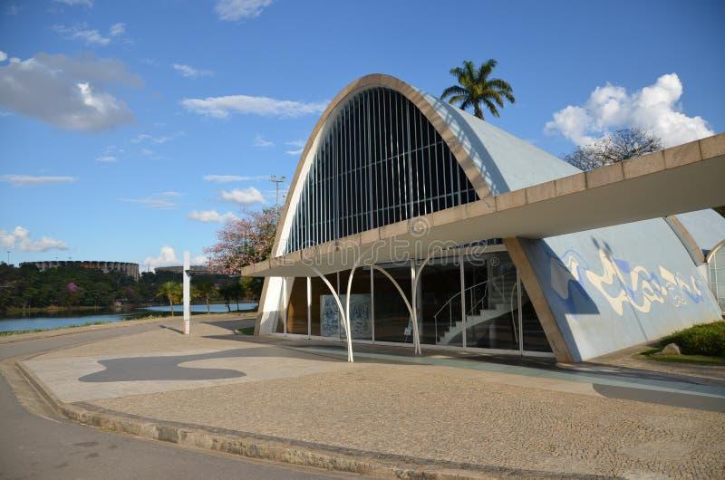 Chiesa di Sao Francisco de Assis fotografia stock libera da diritti