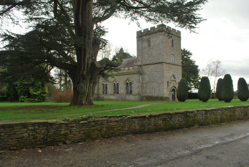 Chiesa di Shobdon fotografia stock