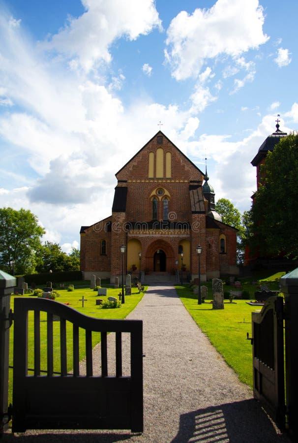 Chiesa di Skokloster fotografie stock libere da diritti