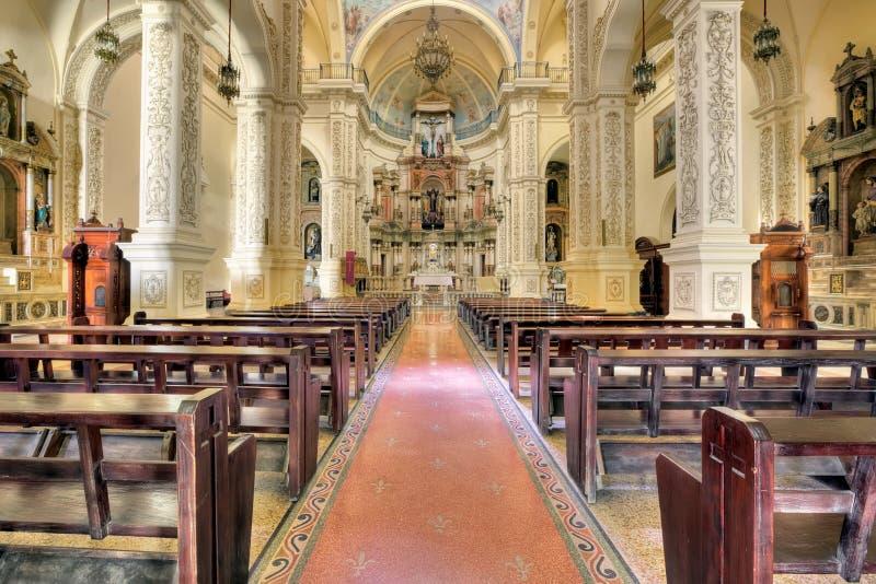 Chiesa di St Augustine a Avana immagini stock libere da diritti
