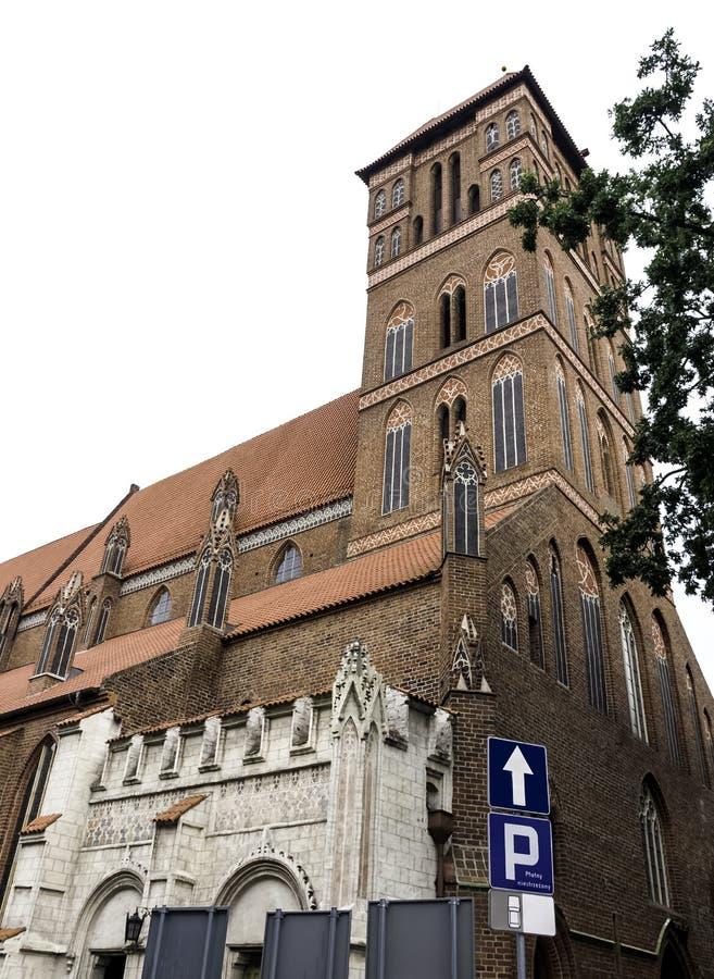 Chiesa di St James l'apostolo - Torum, Polonia immagine stock libera da diritti