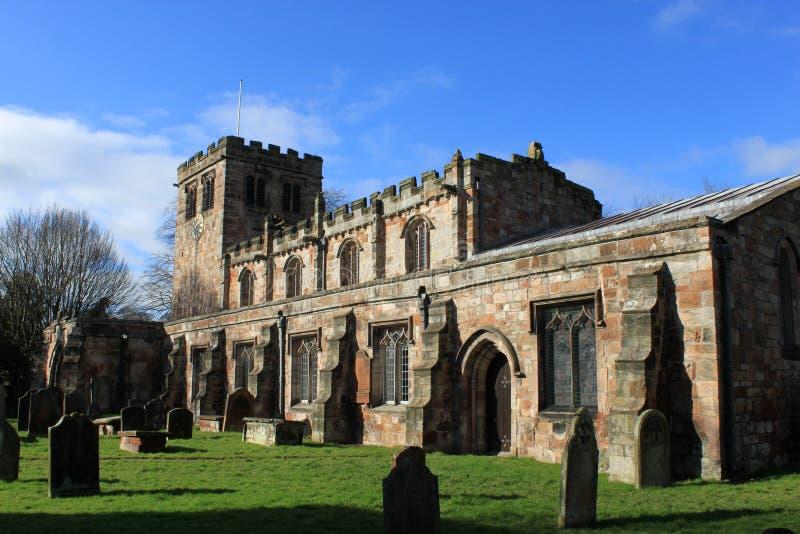 Chiesa di St Lawrence, Appleby in Westmorland fotografia stock libera da diritti