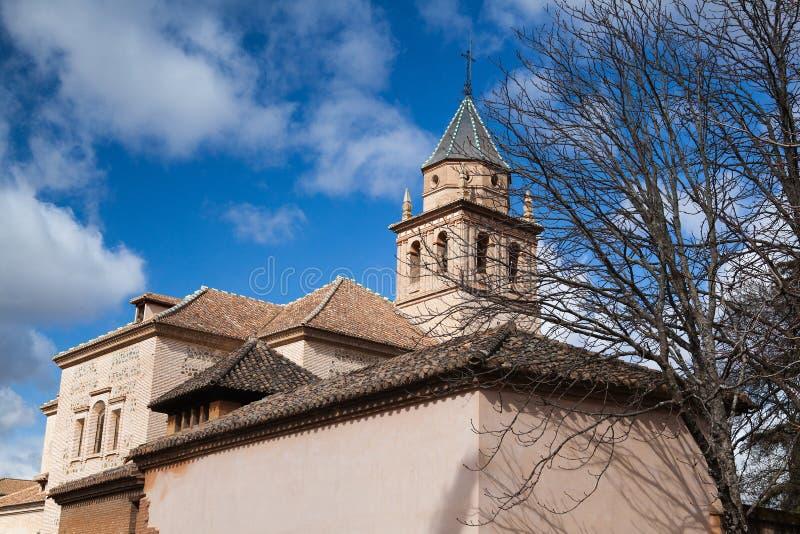 Chiesa di St Mary a Granada fotografie stock libere da diritti