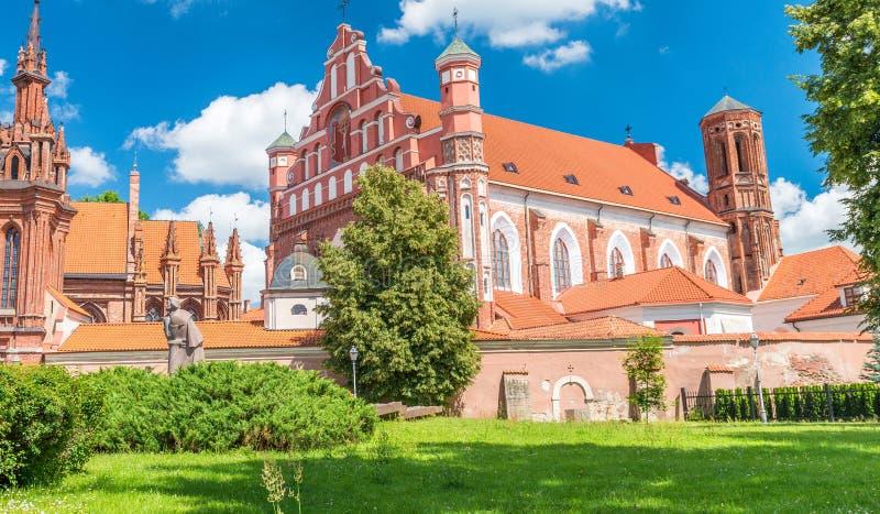 Chiesa di St Michael l'arcangelo e Bernadine Monastery fotografia stock libera da diritti