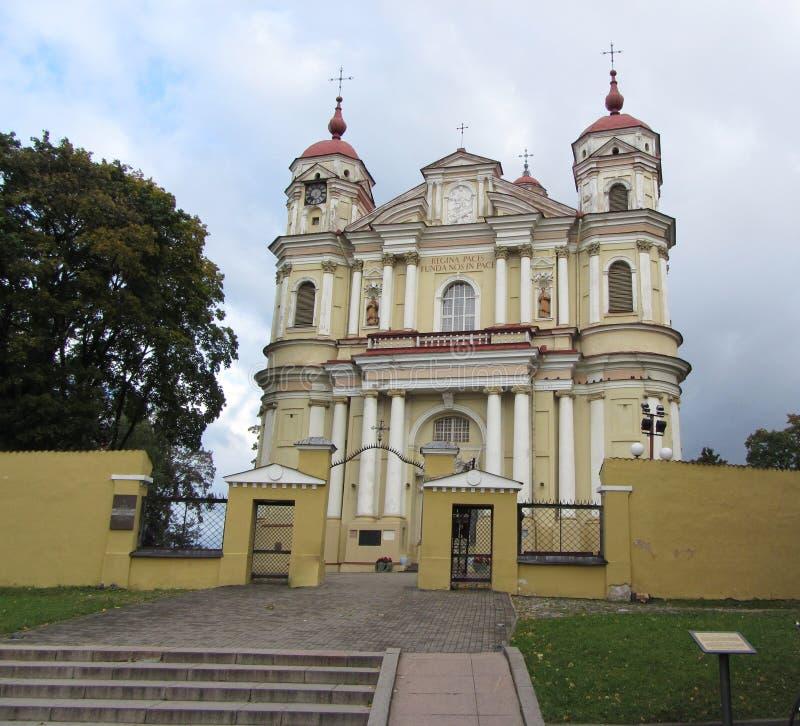 Chiesa di St Paul e di St Peter immagini stock libere da diritti