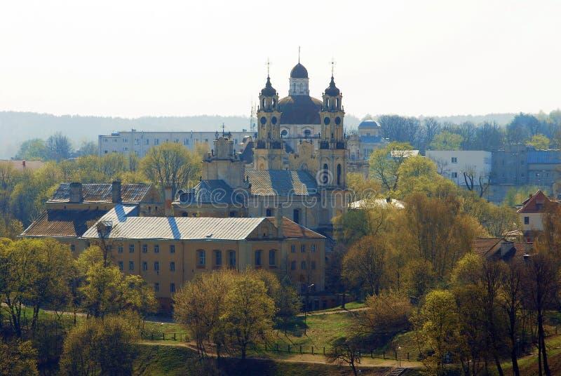 Chiesa di St Paul e di St Peter a Vilnius fotografia stock libera da diritti