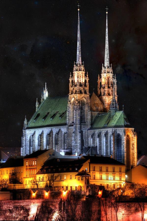 Chiesa di St Peter e di Paul a Brno immagine stock libera da diritti