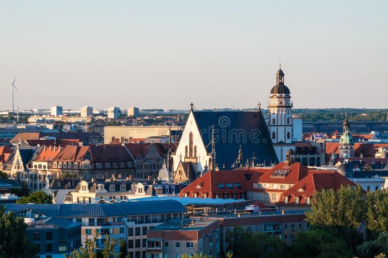 Chiesa di St Thomas di Lipsia immagini stock