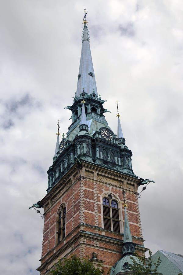 Chiesa di StGertrude del tedesco fotografie stock