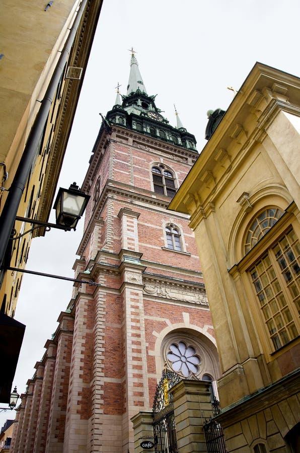 Chiesa di StGertrude del tedesco immagini stock