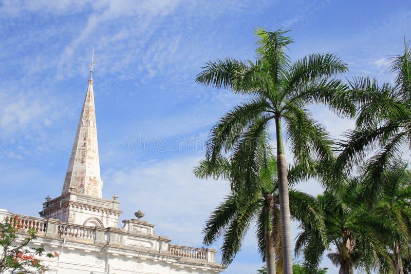 Chiesa di storia della st George in Malesia fotografia stock libera da diritti