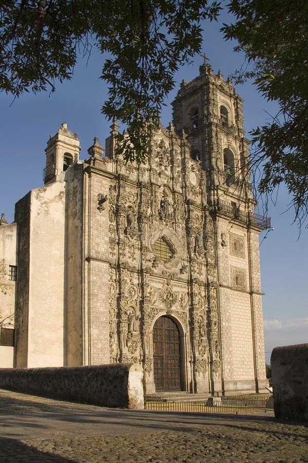 Chiesa di Tepotzotlan fotografie stock libere da diritti