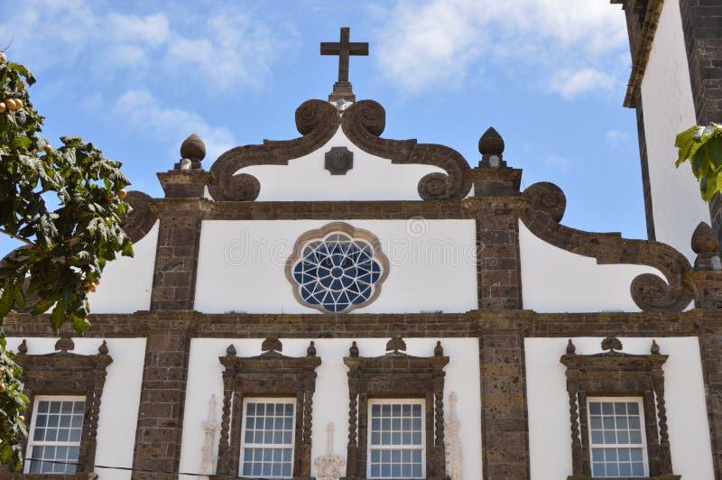 Chiesa di Terceira fotografie stock