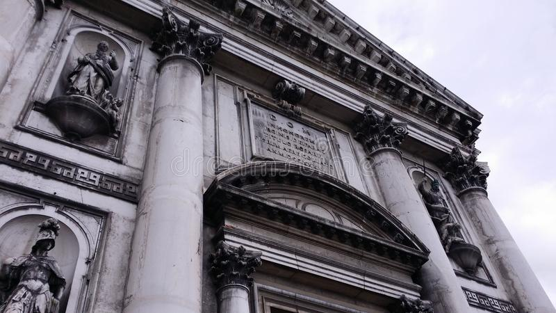 Chiesa di Venezia fotografia stock