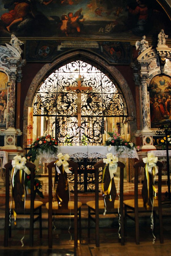 Chiesa di vergine Maria benedetto su Trsat a Rijeka immagine stock libera da diritti