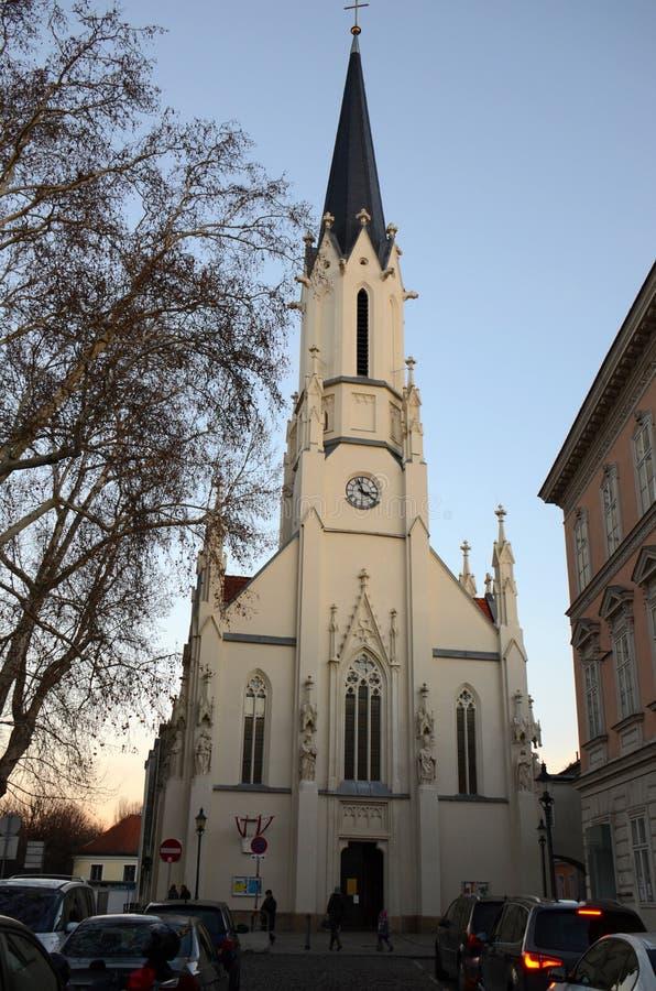 Chiesa di Vienese fotografia stock libera da diritti