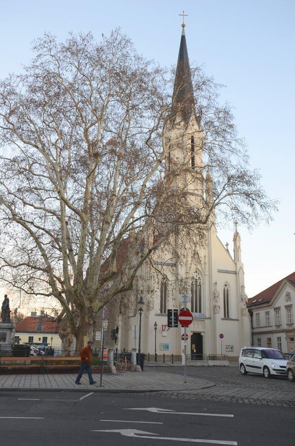 Chiesa di Vienese fotografie stock libere da diritti