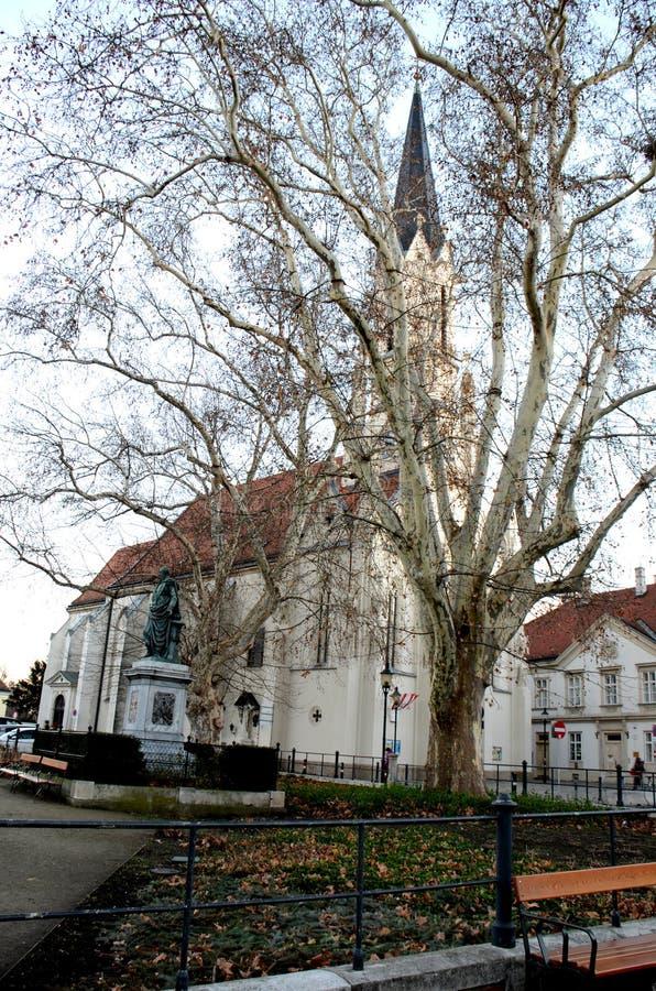 Chiesa di Vienese immagini stock libere da diritti
