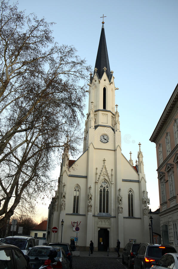 Chiesa di Vienese immagine stock