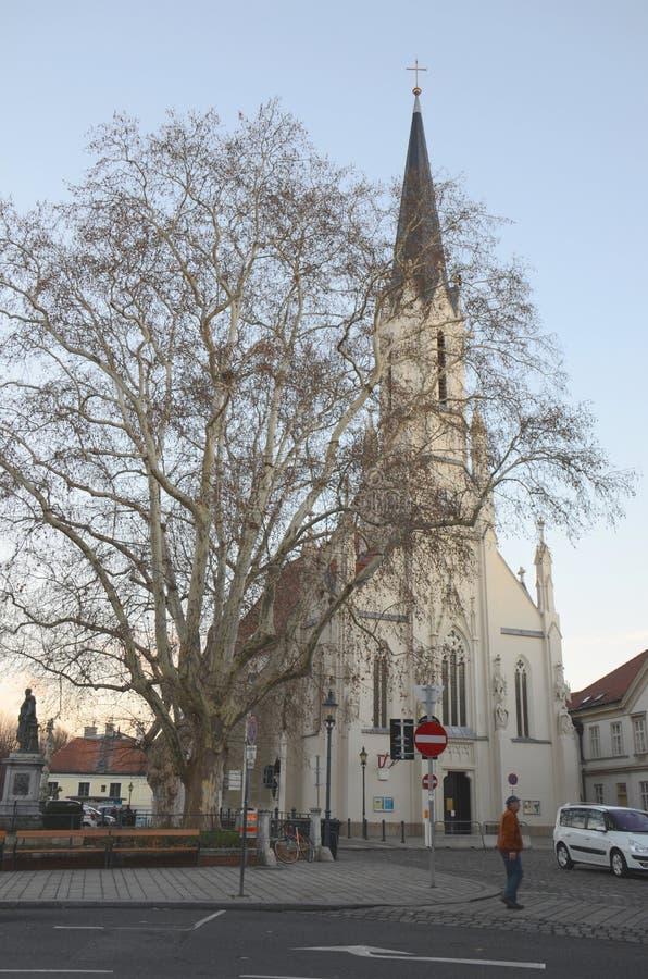 Chiesa di Vienese fotografia stock