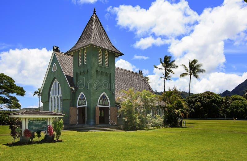 Chiesa di Wai'oli Hui'ia su Kauai 2 immagine stock libera da diritti