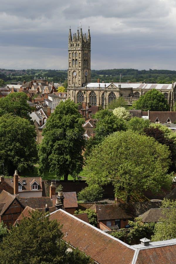 Chiesa di Warwick fotografie stock