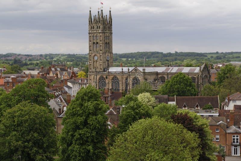 Chiesa di Warwick fotografie stock libere da diritti