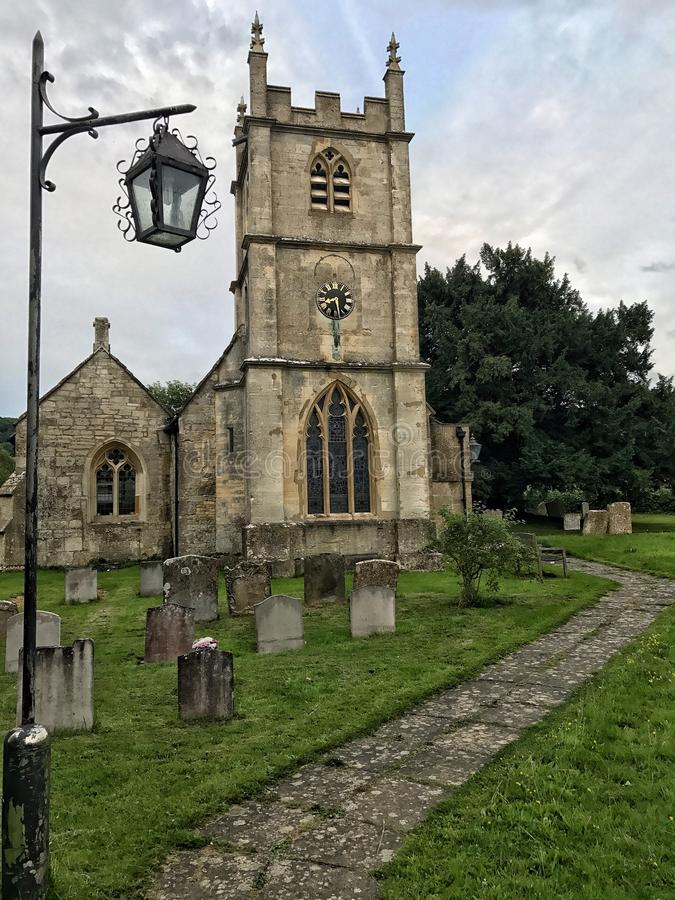 Chiesa di Witcombe immagini stock