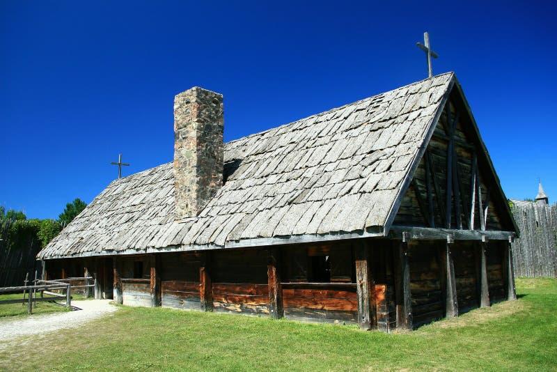 Chiesa di XVIIesimo secolo fotografie stock libere da diritti