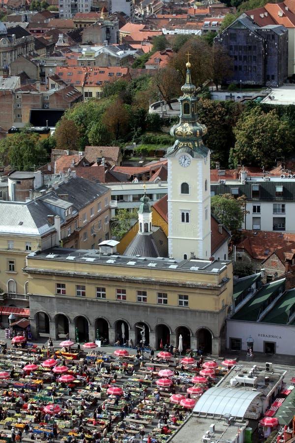 Chiesa di Zagabria, St Mary immagine stock