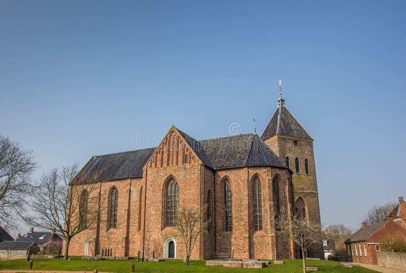 Chiesa di Zeerijp fotografia stock