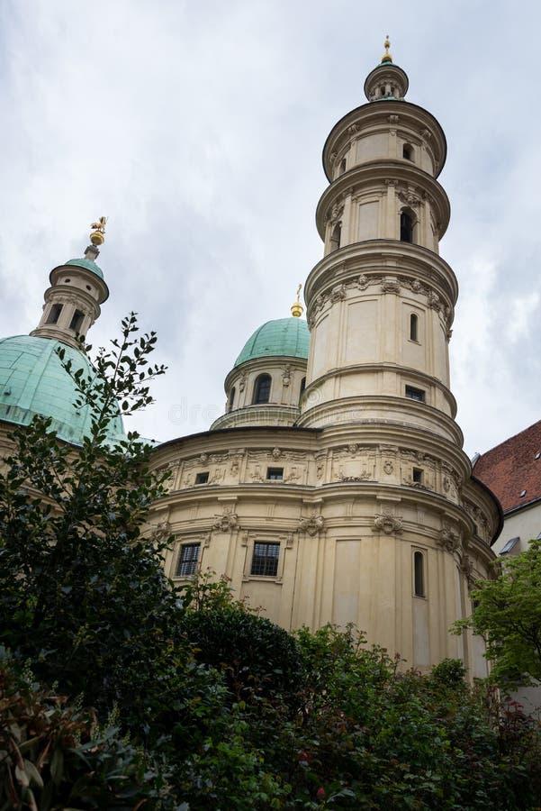 Chiesa e mausoleo del ` s di Catherine del san a Graz, la capitale fotografia stock libera da diritti